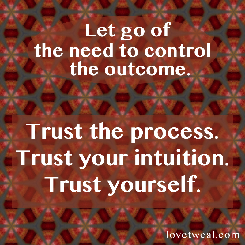 Art Of Letting Go Quotes (1). Trust Yourself